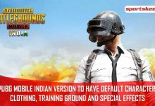 Photo of Default Character Wardrobe, Training Area, And Special Effects Of The PUBG Mobile Indian Version