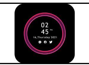 Photo of Edge Lighting Apk | Customized Analog And Digital Clock On Lock Screen |